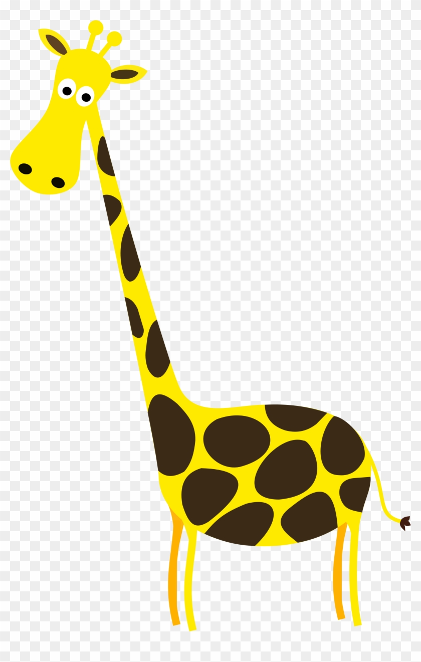 Giraffe Clip Art - Cartoon Giraffe #33683