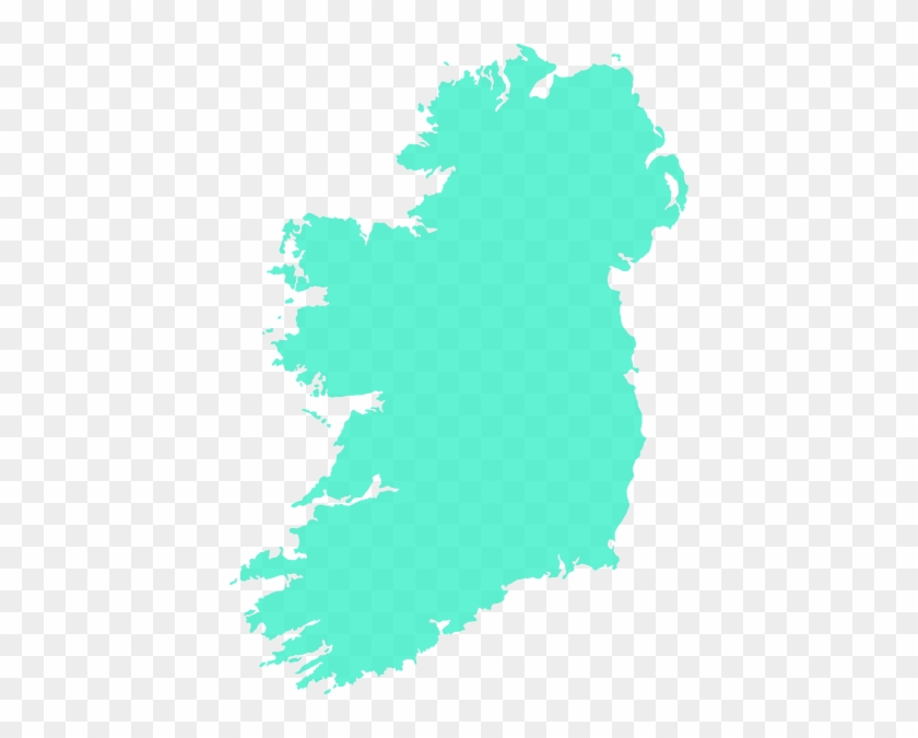 How To Set Use Grey Filled Map Of Ireland Svg Vector - National Parks In Ireland #33703