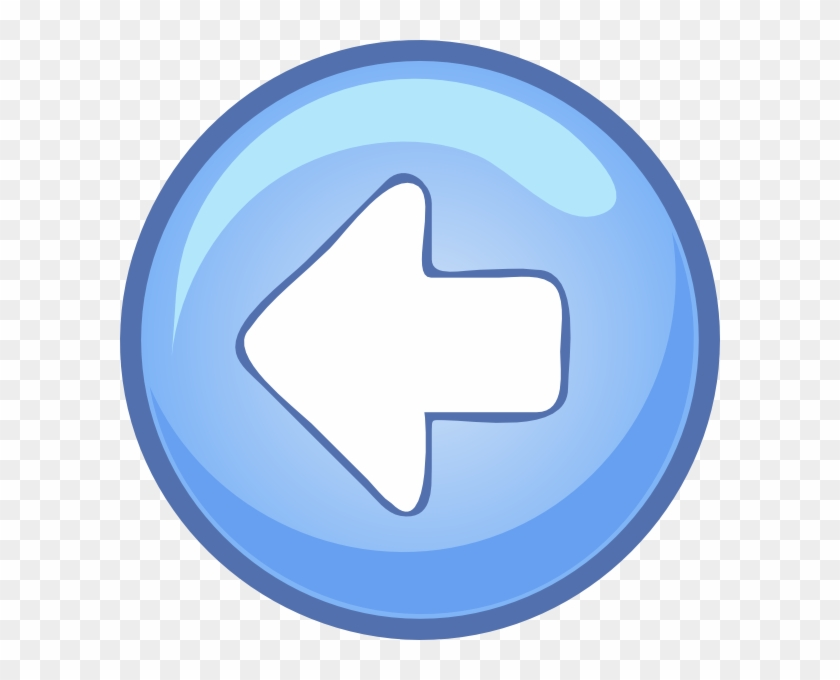 Left Blue Arrow Clip Art At Clker Com Vector Online - Play Button Icon #33720