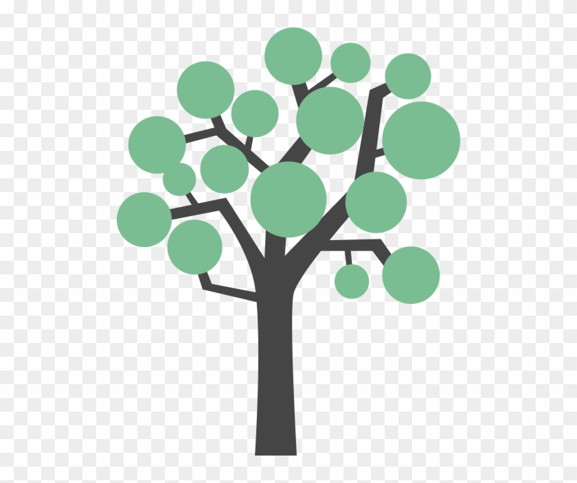 A Tree With Leaves Growing On It - Growing Tree Icon Png #33732