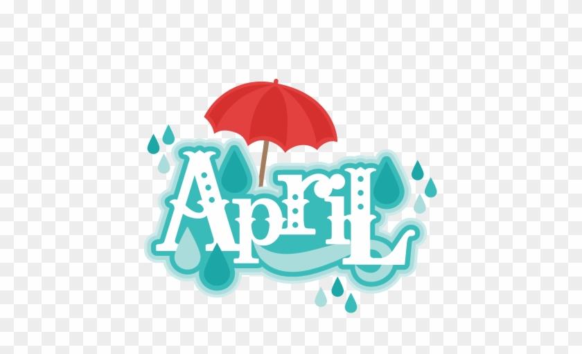 Free April Clip Art - April Clipart #33764