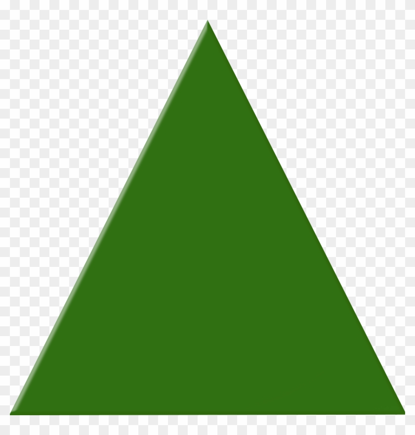 Http - //www - Clker - Com/cliparts - Triangle - Green Triangle Clipart #33786