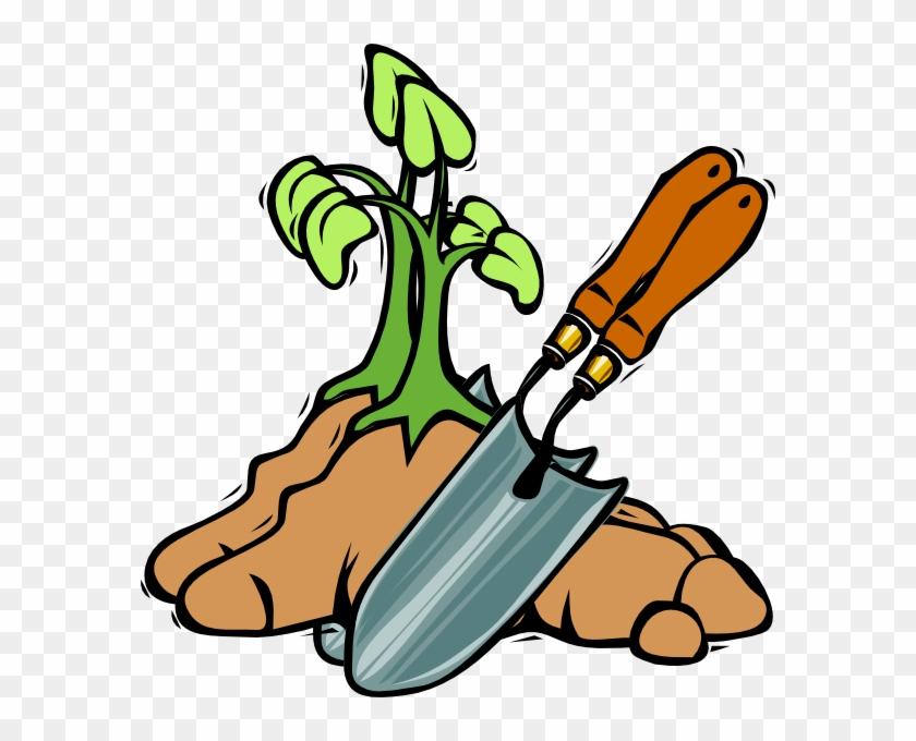 Grow Clip Art At Clker - Garden Tools Clip Art #33834