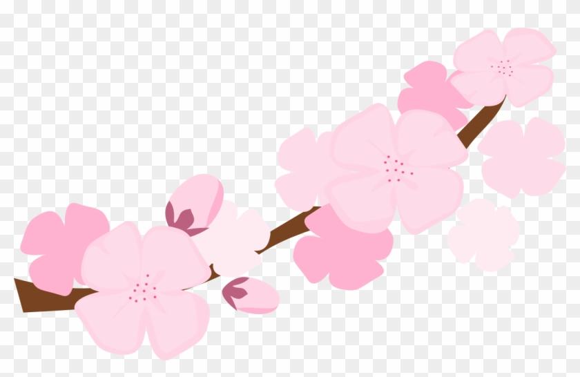 Plum Blossom Tree Clip Art - Cherry Blossom Clip Art Png #33850