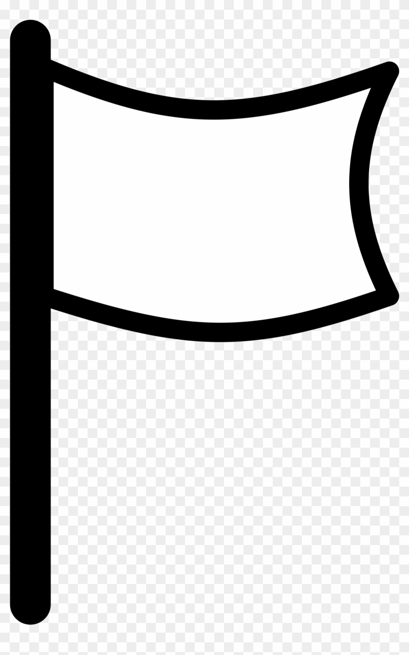 Clipart Info - White Flag Icon Png #33861