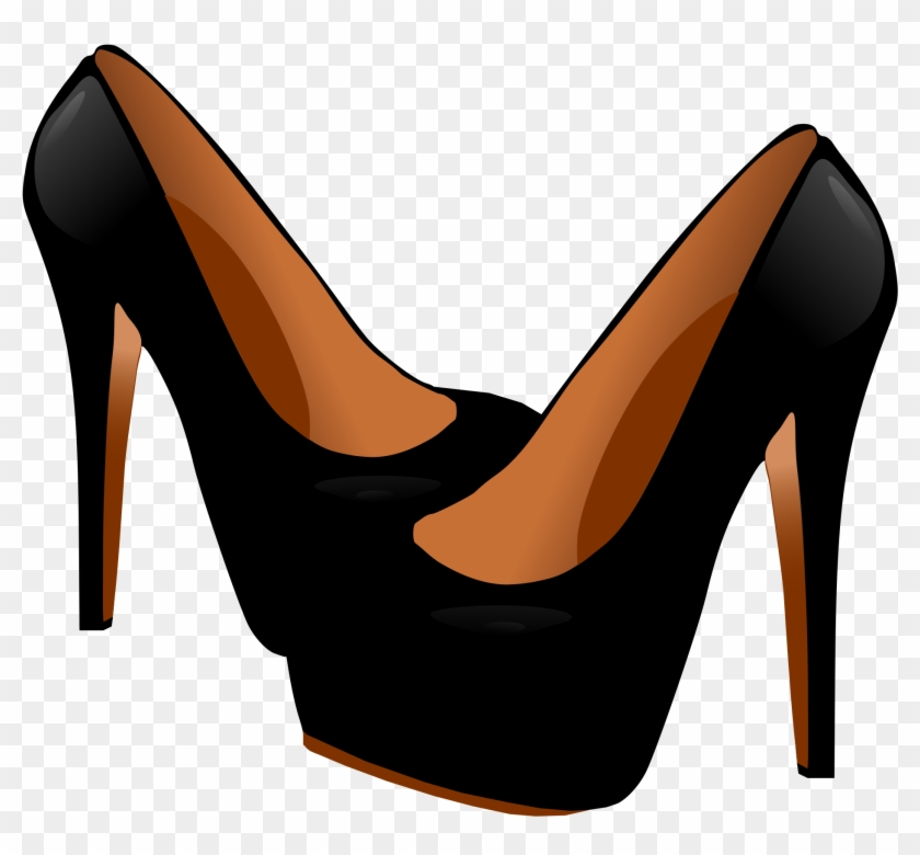 High-heeled Footwear Shoe Stiletto Heel Clip Art - High Heels Vector Png #33886