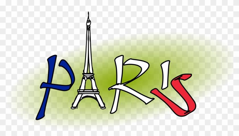 Paris Logo Eiffel Tower City Font - Cliparts Paris #33906
