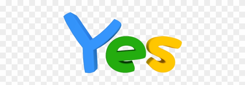 Yes Clip Art Free - Yes Man #33910