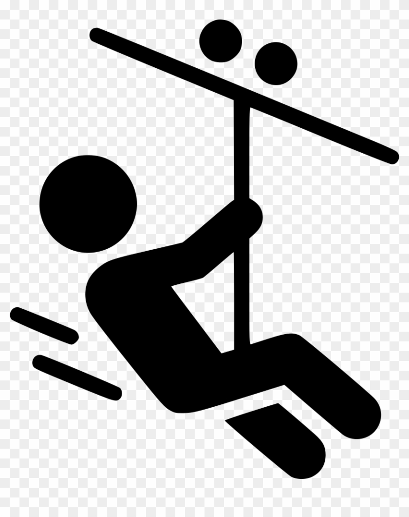Ziplining Clipart Zip Line Svg Png Icon Free Download - Zipline Clipart #33913