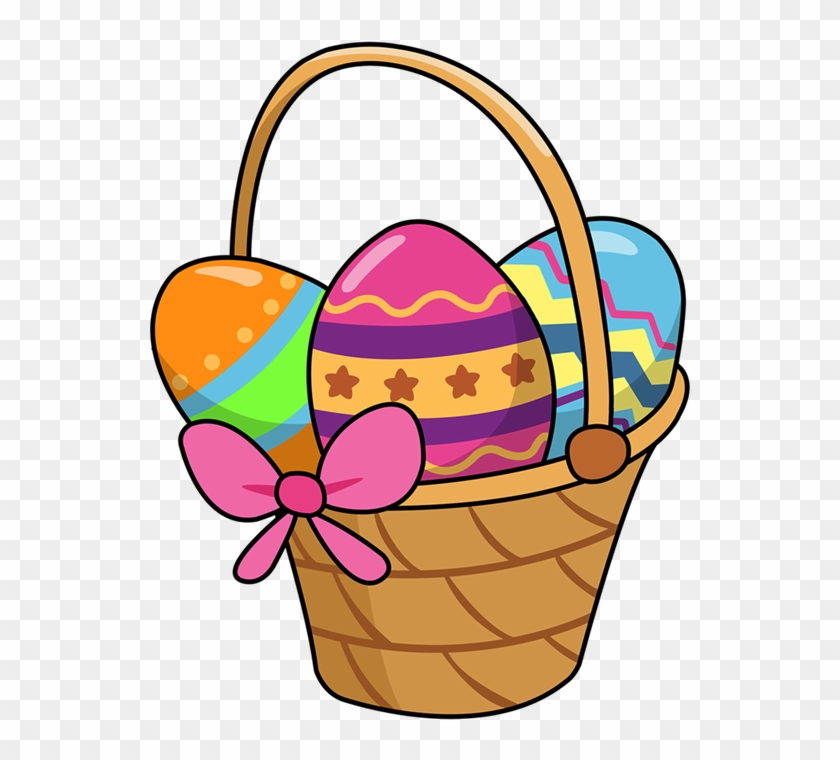 Easter Clip Art Free Printable - Easter Basket Clipart Free #33926