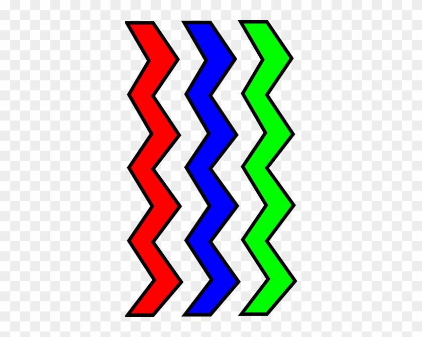 Clipart Of Zig Zag Clip Art At Clker Com Vector Online - Zigzag Clipart #33927