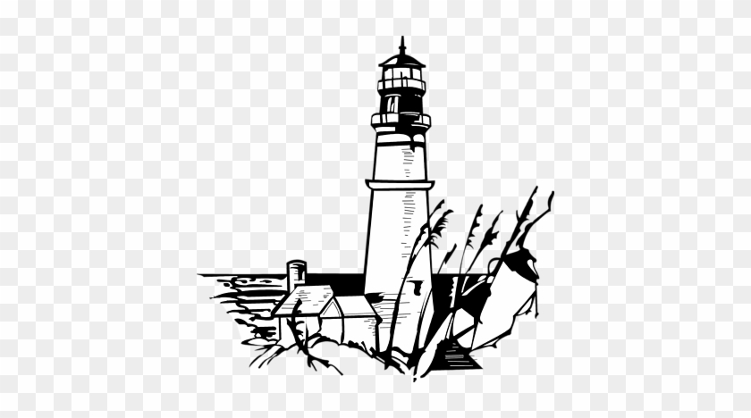 Download - Lighthouse Clipart Black And White #33949