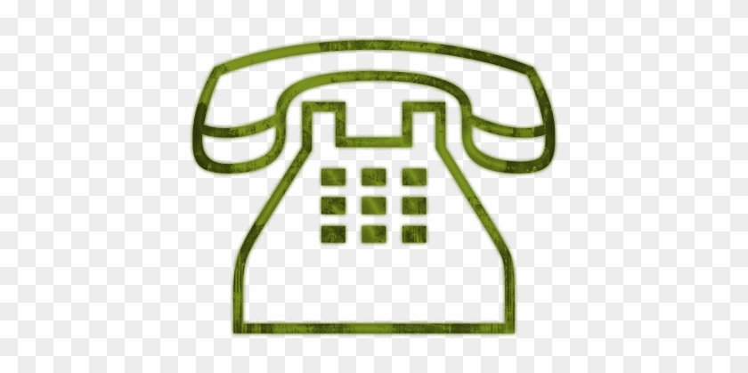 Traditional Clear Telephone Icon - Telephone Logo Gold Png #33964