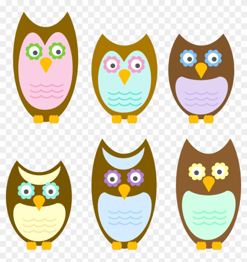 Tlotp-owlfamily - Clip Art #33984