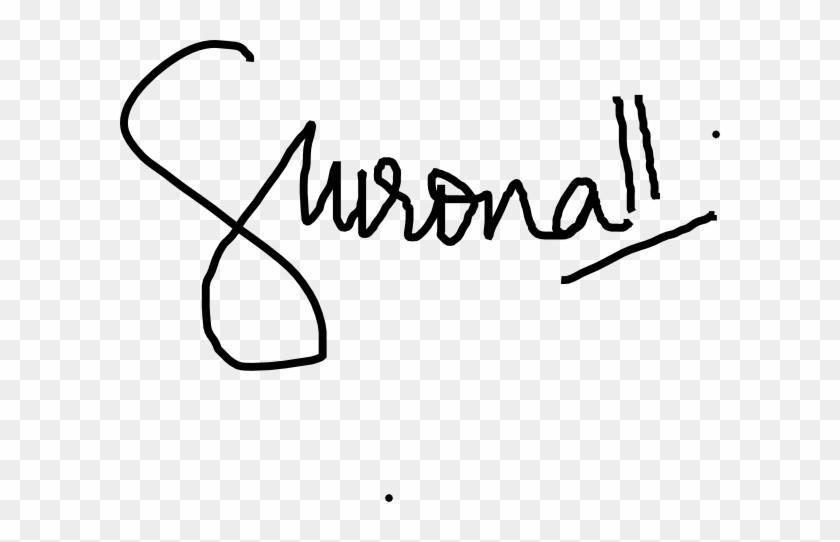 Signature Clip Art - Signature Line Clip Art #34000