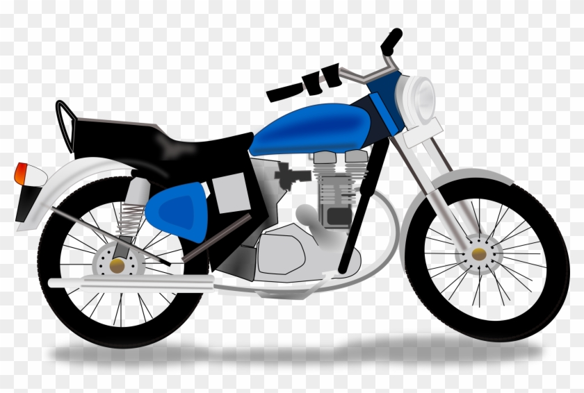 Motorcycle Clipart Free - Motorcycle Clipart Png #34015