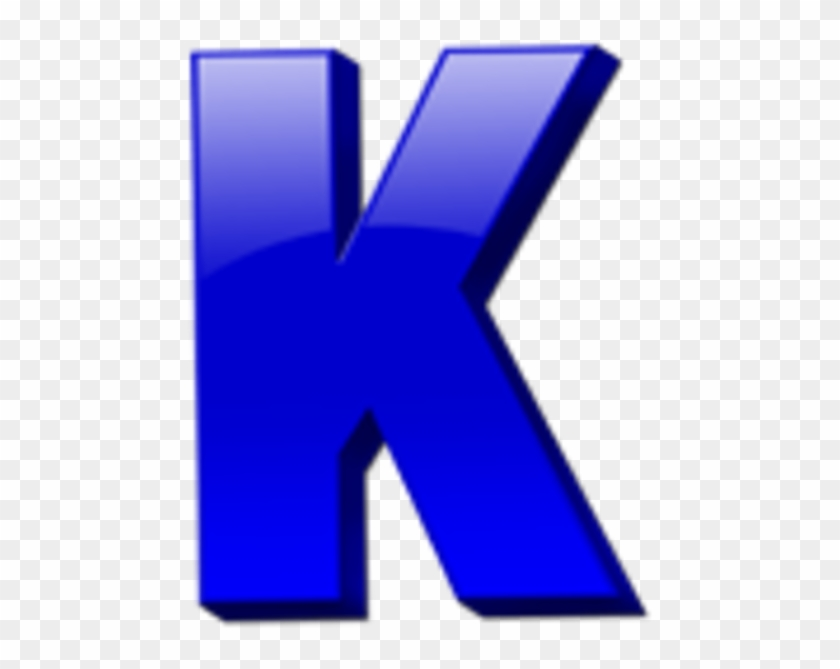 Letter K Icon Image - Clipart K #34017