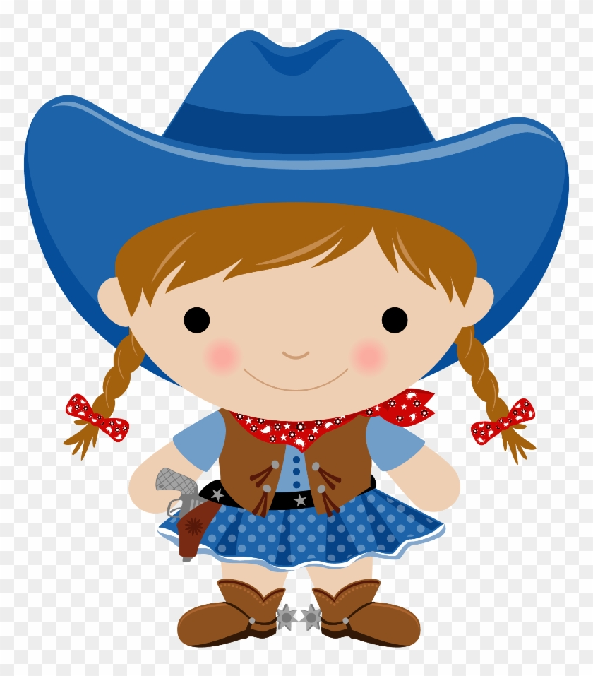 Cowboy E Cowgirl - Cowgirl Clipart Png #34026