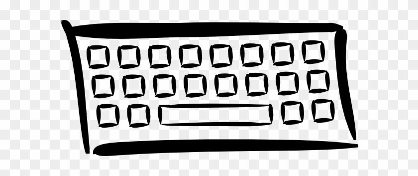 Keyboard Clip Art - Computer Keyboard Clip Art #34046