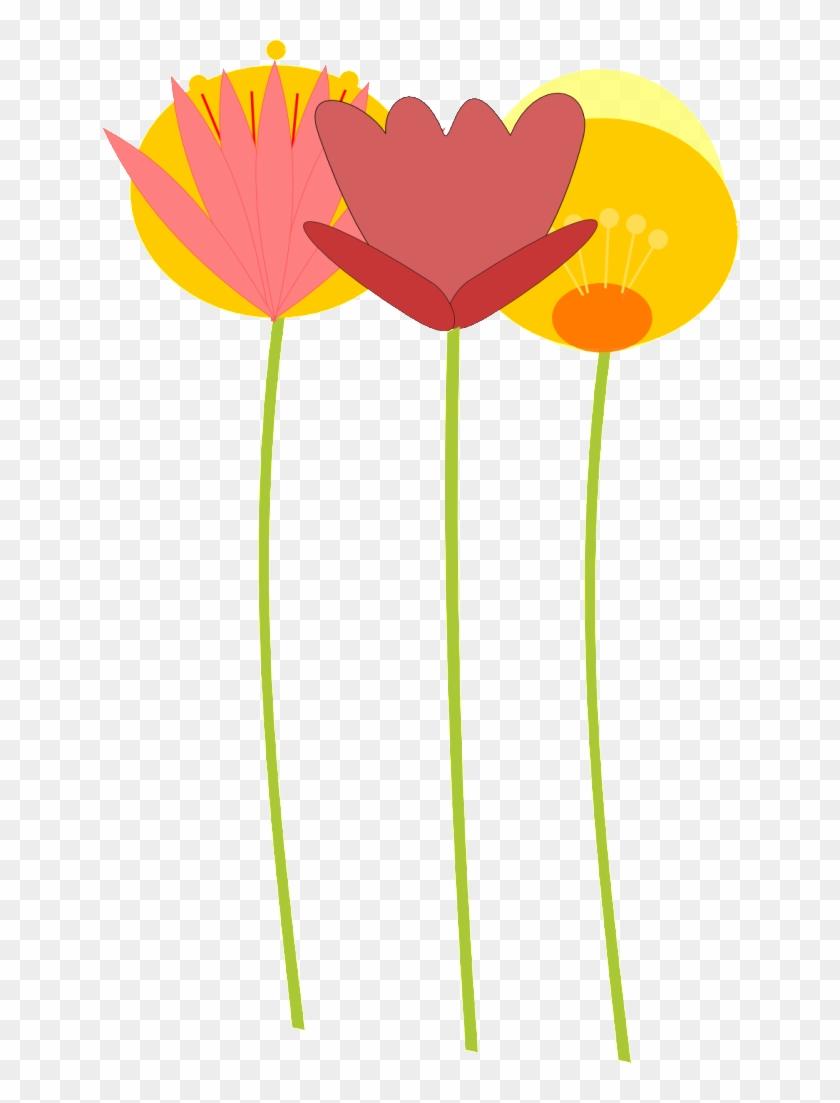 Flower Clip Art - Blumen Clipart Png #34061