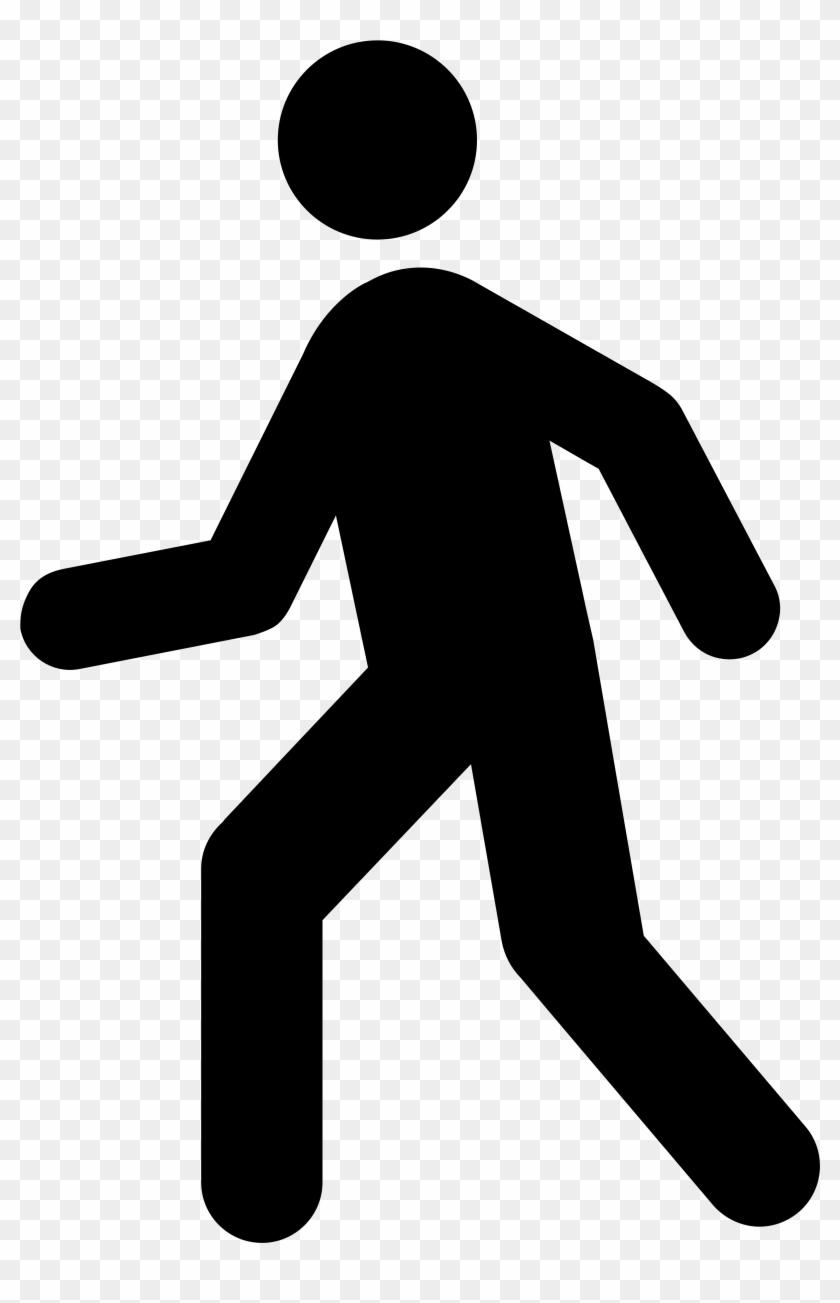 Man Clip Art - Walk Clipart #34077
