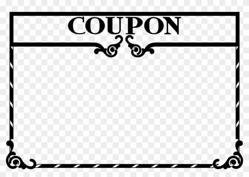 Clipart Coupon Template - Blank Coupon Clip Art #34088