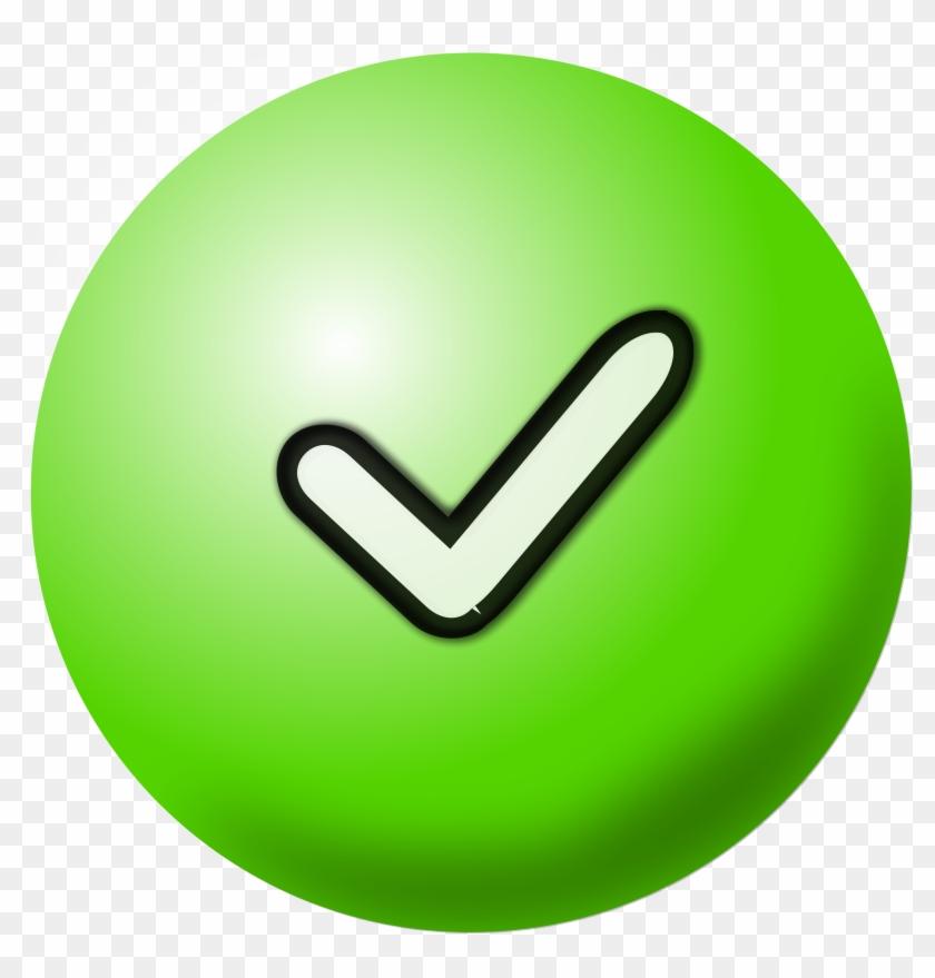 Clipart Green Check Mark Icon - Clip Art Check Mark #34117