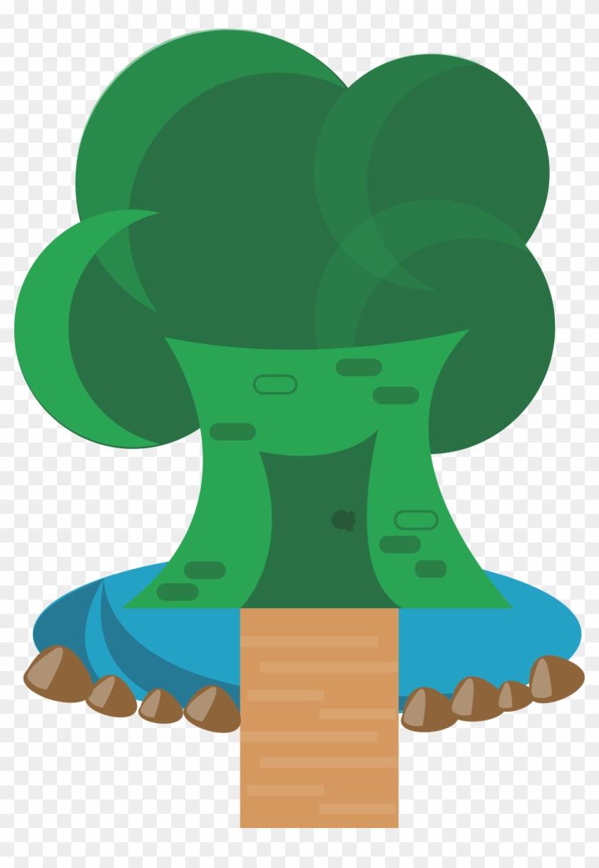 Free Vector Tree House - House #34120