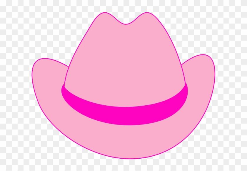 Brown Cowboy Hat Clip Art - Pink Cowboy Hat Clipart #34145