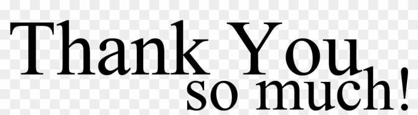 Thank You Black And White Thank You Clip Art Free Clipart - Thank You So Much Brother #34178