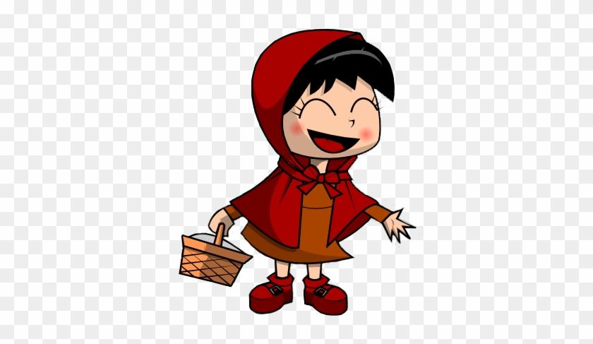 Hood Clip Art - Little Red Riding Hood Png #34186