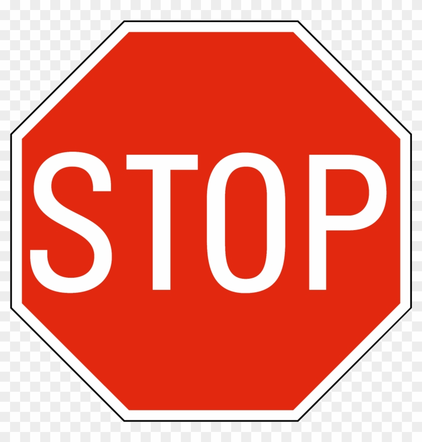 Printable Stop Signs - Stop Sign Transparent Background #34210