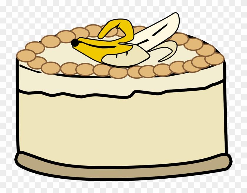 Banana Pudding Cheesecake Hornsby Cakes - Banana Pudding Clipart #34224