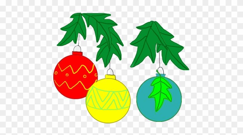 Christmas Decorations - Christmas Tree Clip Art #34261