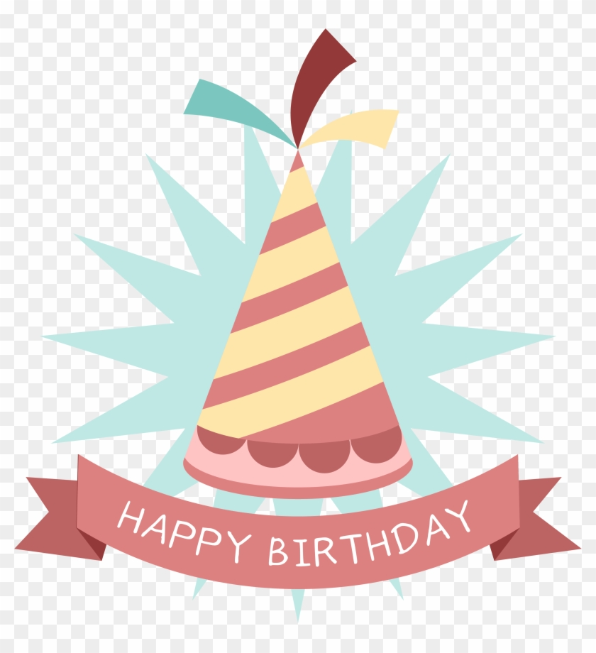 Birthday Party Hat Sticker Clip Art