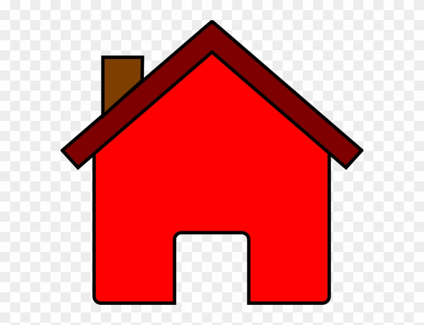 Green House Clip Art - Red House Clipart #34287
