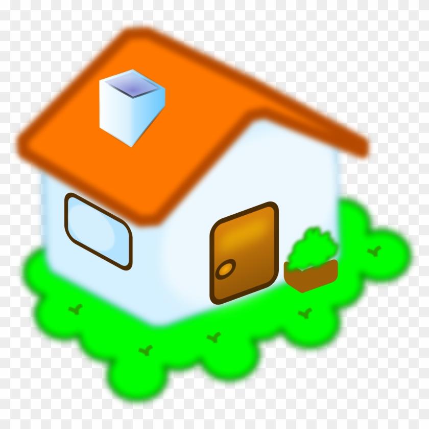 Home Free Vector - Clip Art Casa #34291