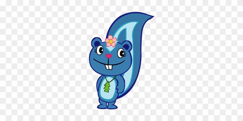 Petunia Clipart Blue - Petunia De Happy Tree Friends #34402
