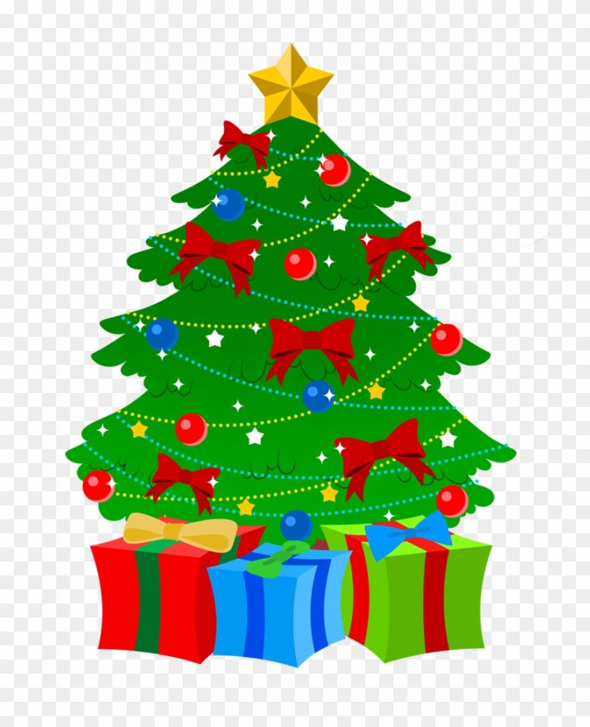 Christmas ~ Christmas Tree Clip Art Free Imageschristmas - Christmas Tree Presents Clip Art #34445