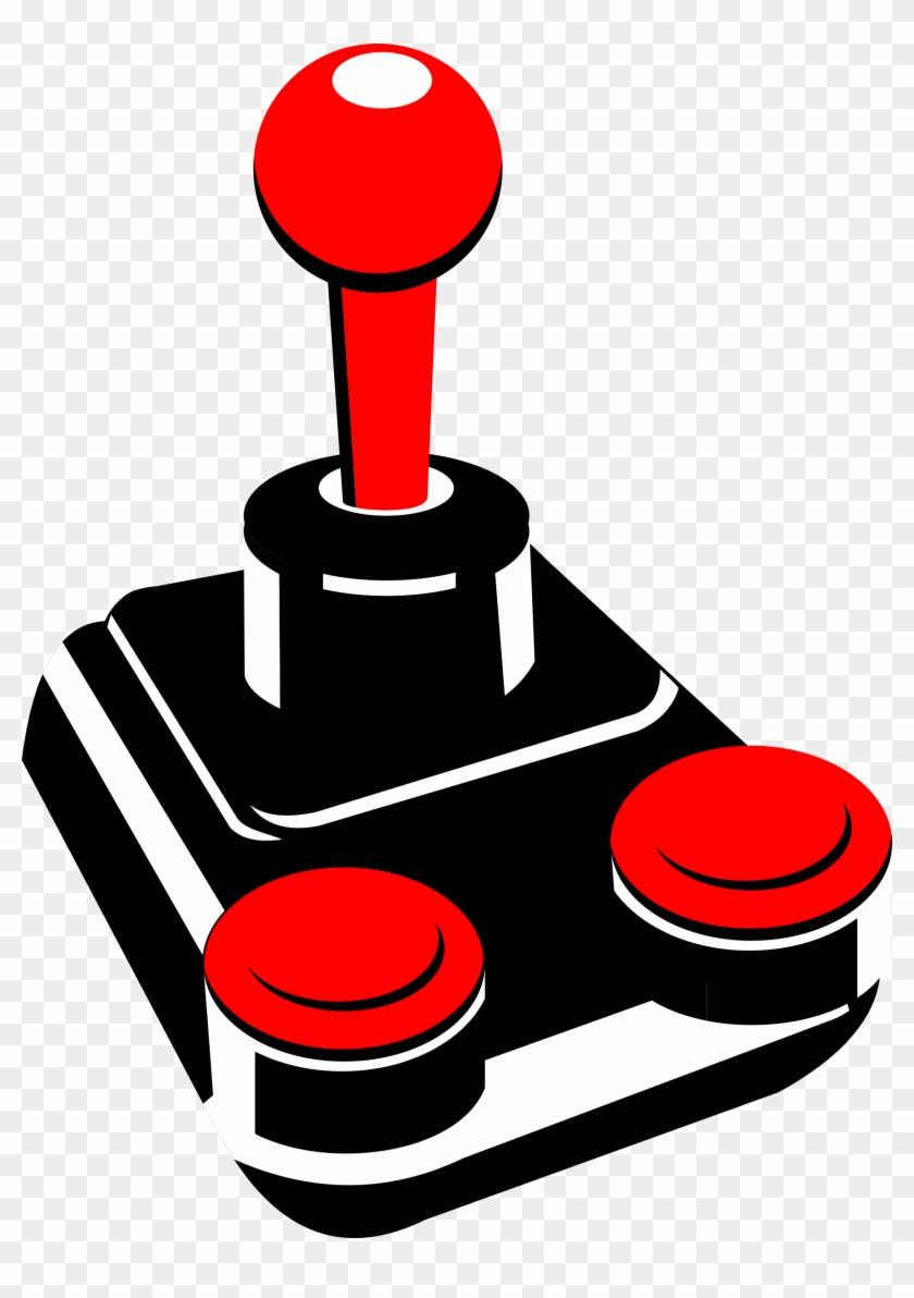 Retro Joystick 001 Png Clip Arts - Joystick Clipart #34467