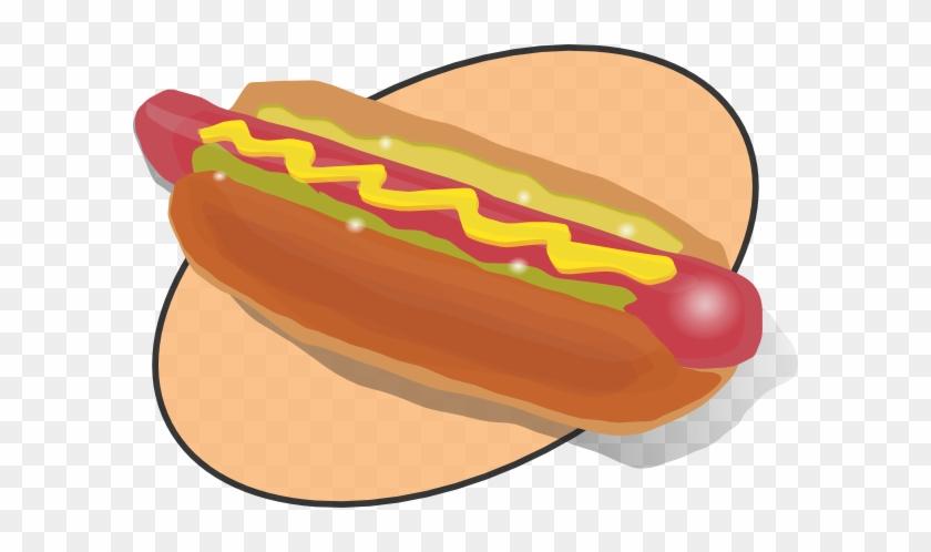 Retro Dog Clip Art - Hot Dog Clip Art #34515