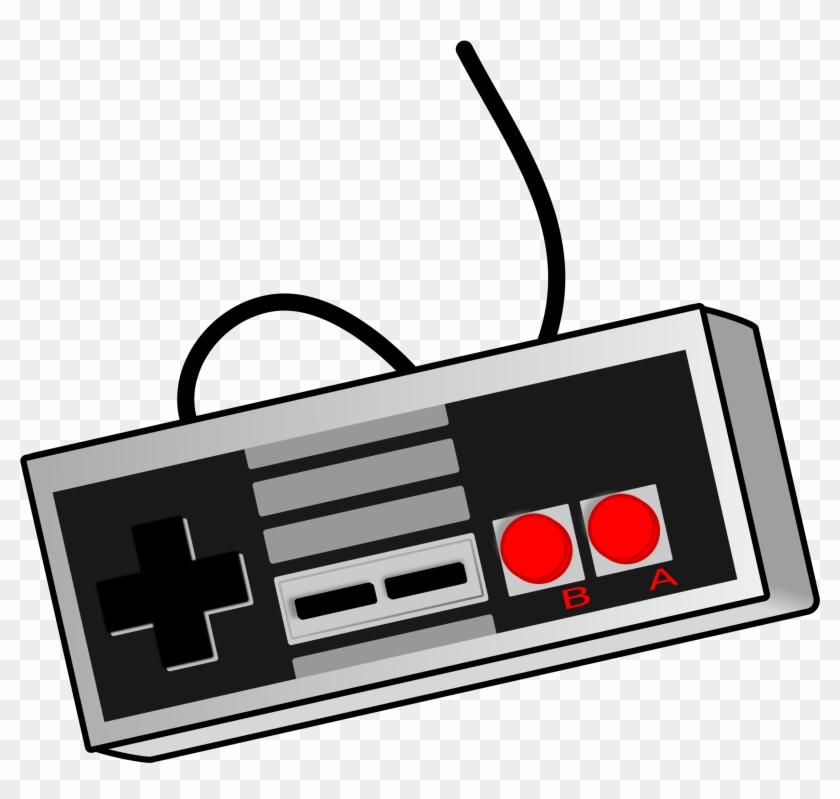 Open - Video Game Controller Clip Art #34541