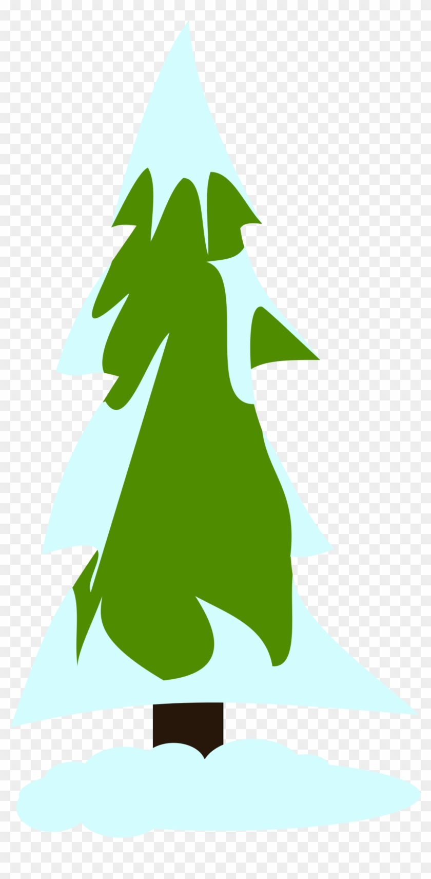 Snow Covered Pine Tree Clip Art Pine Tree Clip Art - Clip Art #34573