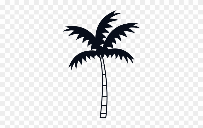 Palm Tree Icon - Vector Graphics #34575