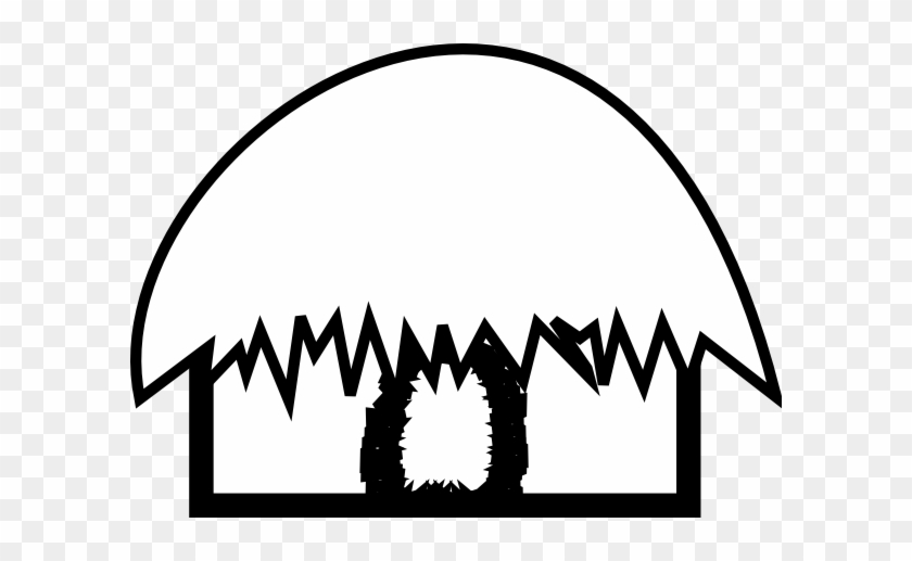 Desert Hut Cliparts Hut Black And White Free Transparent Png