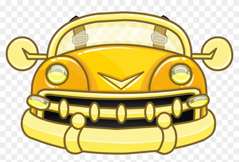 Future Car In Retro Style Png Clipart - Club Penguin Gold Puffle #34693