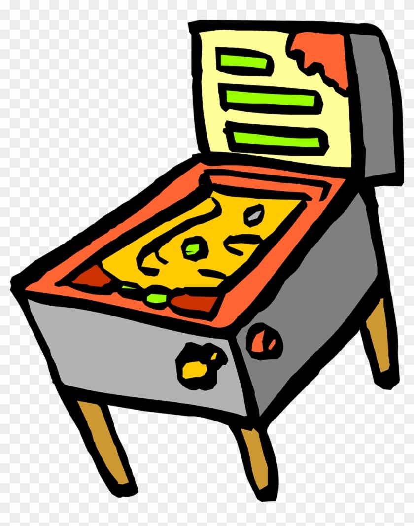 Pinball Clipart - Pinball Clipart #34726