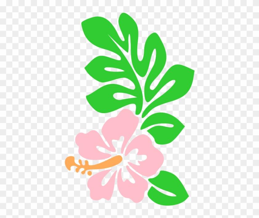 Hawaii Flower Cartoon Draw Hawaiian Flowers Icon - Flowers Clip Art Hawaii #34727