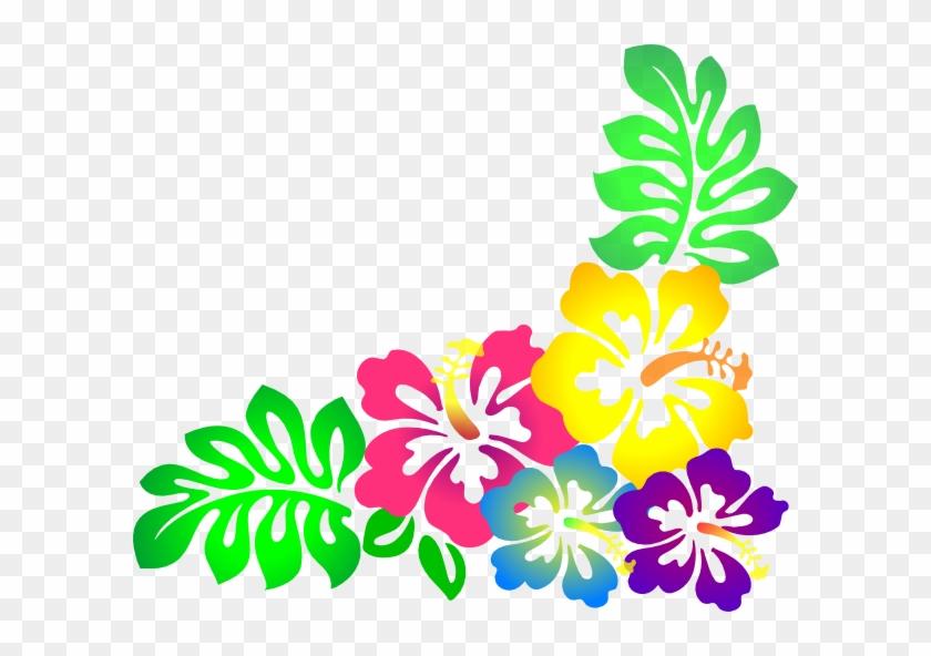 Hawaiian Clip Art Free - Hibiscus Clip Art #34742