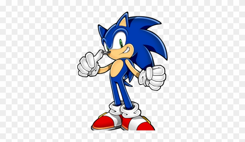 Sonic The Hedgehog Clipart Retro Sonic The Hedgehog Thumbs Up Free Transparent Png Clipart Images Download